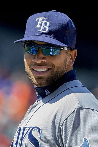 James Loney - Loney with the Rays in 2014.