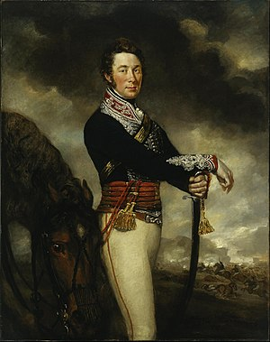 14th King's Hussars - Captain Peter Hawker of the 14th Light Dragoons, James Northcote c. 1812