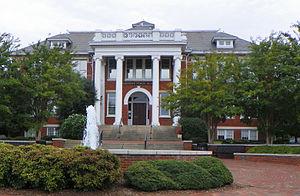 Former Jamestown High School - Jamestown High School, Former, September 2014