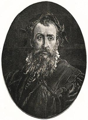 Jan Kochanowski - Portrait by Józef Holewiński