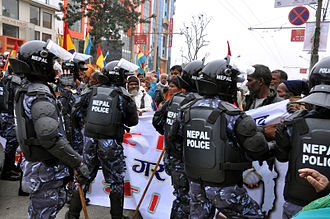 Nepalese Civil War - 2006 democracy movement