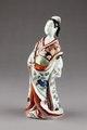Japansk porslinsfigur från 1700-talet, föreställande hovdam - Hallwylska museet - 96052.tif