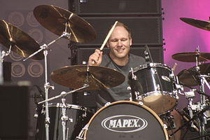 Pitchshifter - Drummer Jason Bowld in June 2008