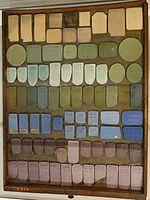 Wedgwood jasperware color chart