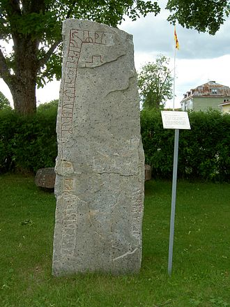 Gunnborga - Hälsingland Rune Inscription 21