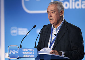 Javier Arenas (Spanish politician) - Javier Arenas in 2012.