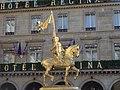 Jeanne d' Arc - Fremiet, Paris, 2011.jpg