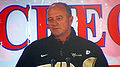 Jeff Tedford at 2009 Poinsettia Bowl AT&T Team Luncheon at USS Midway Museum 1.JPG