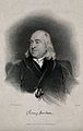 Jeremy Bentham. Line engraving by C. Fox, 1838, after H. W. Wellcome V0000462.jpg