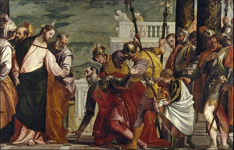 Fichier:Jesús y el centurión (El Veronés).jpg