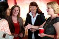 Jessica O'Connell & Ann Kirkpatrick with supporters (29695528076).jpg