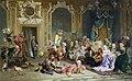 Jesters of empress Anna Ioanovna by V.Jacobi (1872).jpg