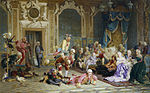 Jesters of empress Anna Ioanovna by V.Jacobi (1872).jpg