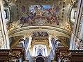 Jesuitenkirche organ pipes, ceiling painting P9081248.jpg