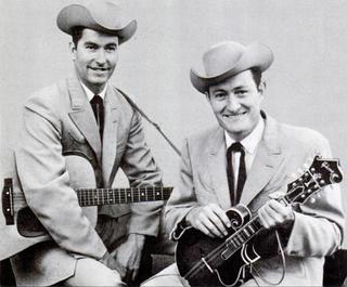 Jim & Jesse American bluegrass duo