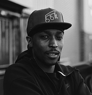 Jme (musician) British grime MC and member of Boy Better Know