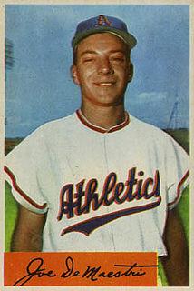 Joe DeMaestri American baseball player