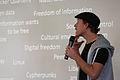 Johannes Grenzfurthner at Paraflows Symposium 2012, Vienna.jpg