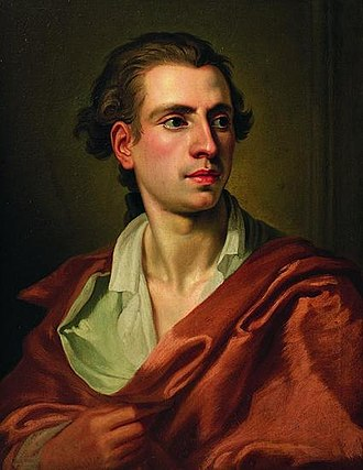 Johannes Wiedewelt - Johannes Wiedewelt as painted by Peder Als in 1766.