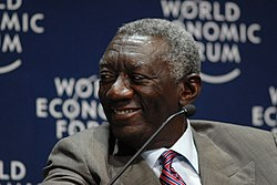 John Agyekum Kufuor - World Economic Forum on Africa 2008-2.jpg