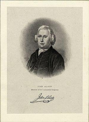 John Alsop - Lithograph of Alsop by Max Rosenthal, ca. 1885
