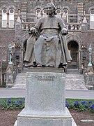 John Carroll Founder statue 2011.jpg