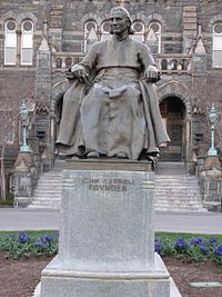 Bishop John Carroll (statue)