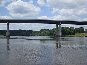 John McKeithen - The John J. McKeithen Bridge across the Ouachita River at McKeithen's hometown of Columbia, Louisiana