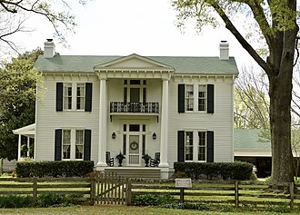 John M. Fleming Home Place - The John M. Fleming Home Place in 2017