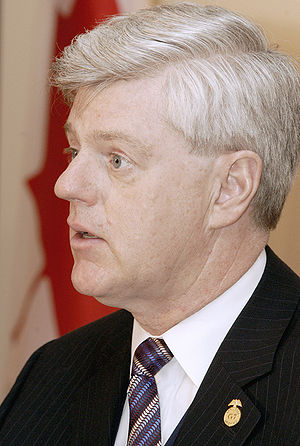 Minister of Innovation, Science and Economic Development - Image: John Manley IMF