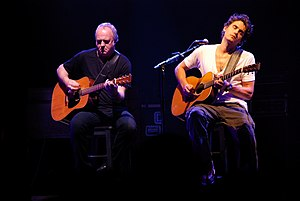 The Village Sessions - Robbie McIntosh and John Mayer, who perform on all tracks, in 2007