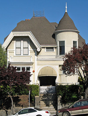 Eureka Valley, San Francisco - Image: John Mc Mullen House (San Francisco)