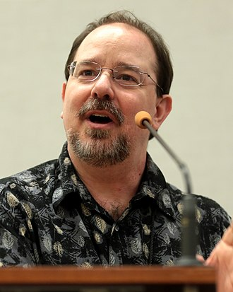 John Scalzi - Scalzi at the 2018 Phoenix Comic Fest