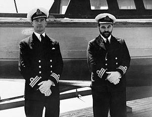 John Linton - Commander John Linton (right) c. 1942–3