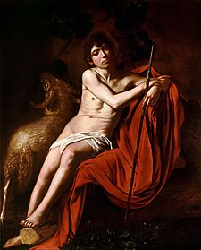 John the Baptist (Galleria Borghese)-Caravaggio (1610).jpg