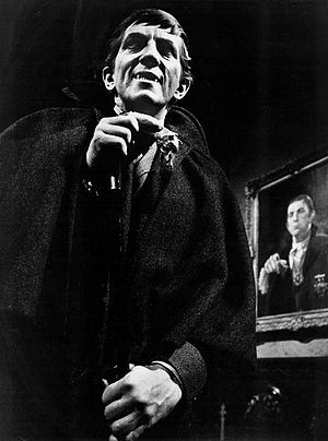 Dark Shadows - Jonathan Frid as Barnabas Collins, a 200-year-old vampire