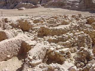 Archaeological site in Jordan