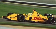 Fisichella su Jordan EJ12 al Gran Premio degli Stati Uniti d'America 2002