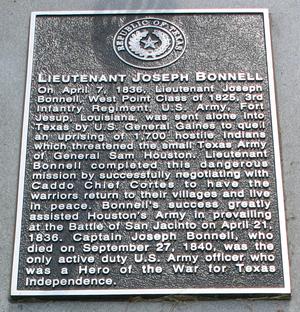 Joseph Bonnell - Joseph Bonnell Marker