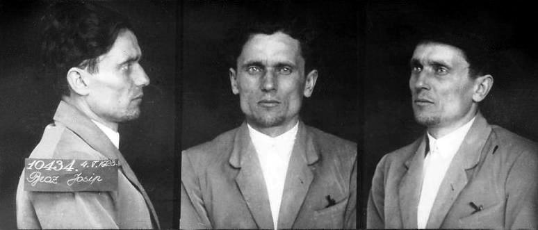 Josip Broz Tito in prison 1928
