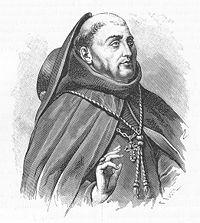 Spanish bishop, Fray Juan de Zumárraga .