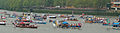 Jubilee Pageant - man powered boats panorama.JPG