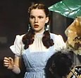 Judy Garland as Dorothy Gale in The Wizard of Oz, one of her two 1939 films for which she received an Academy Juvenile Award