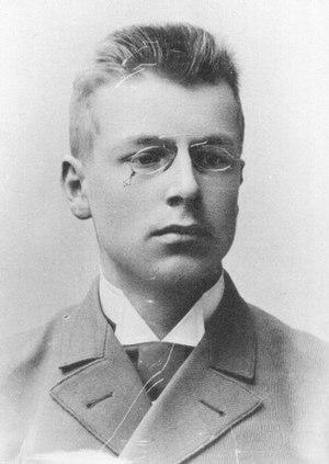 Juho Kusti Paasikivi - J.K. Paasikivi in 1893