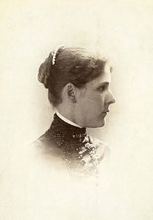 Julia Brainerd Hall 1881 Oberlin College Senior Year Portrait by Arthur Courtland Falor.jpg