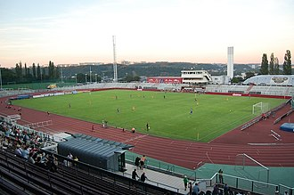 Stadion Juliska - Juliska during a match, Aug 2011