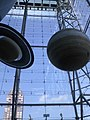 Jupiter and Saturn at the Hayden Planetarium.jpg