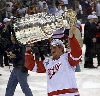 Justin Abdelkader - Image: Justin Abdelkader's Stanley Cup 2008