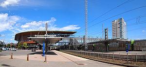 Jyväskylä Central Station - Image: Jyväskylä Travel Centre 2