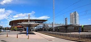 Jyväskylä Central Station railway station in Jyväskylä, Finland